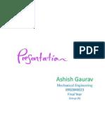 Ashish Gaurav (Rice Husk Boiler)
