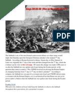 7 Day Assyrian & Israelite War (1 Kings 20:26-30)