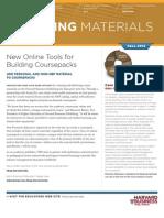 Harvard Business Publishing Teaching Materials Newsletter Fall 2012