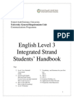students handbook level 3 f12