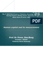 Calculating Human Capital