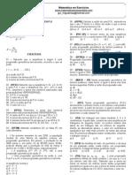 Exercícios - Progressão Geométrica (P.G)
