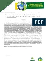 Quantificação de áreas com potencial de desarranjos da superfície do solo em plantio direto