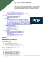Exemplos de Usos da Régua de Cálculo