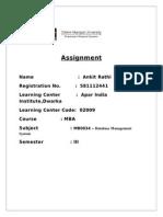 MB0034-Database Management System
