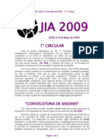 Call for Sesions JIA2009