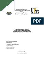 Relatório II, Superficies Equipotenciais