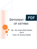 Different Types of Asthma