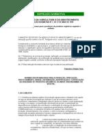 certificação e normas disciplinadoras do sistema de produção orgânica animal e vegeta