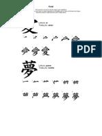 Letra Dialeto Kanji