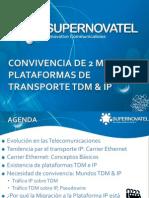 Convivencia en Dos Mundos (Plataformas de Transporte TDM & IP)