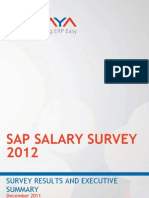SAP Salary Survey 2012 NEW