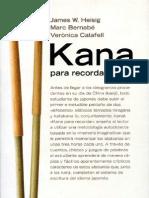 2263484 Japones Kana Para Recordar