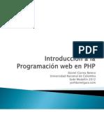 Programación Web Parte1