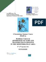 Parasitology Summer Course-final-program Italy2012