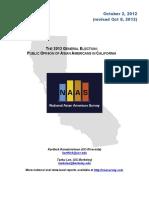 2012 Report CA Election Embargoed