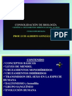 COSOLIDACION BIOLOGÍA