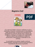 Registro Civil, Importancia, Funciones.