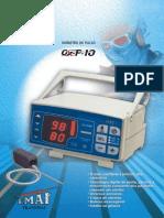 Espeficicação Técnica - Oxímetro de Pulso OX-P-10 - EMAI-Transmai
