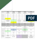 12-13 Master Schedule Website