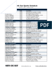 North Sac Sports Schedule (10-1-2012)