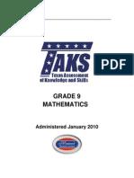 9th Grade Math Hus