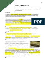 Cronologia Historia Computacion
