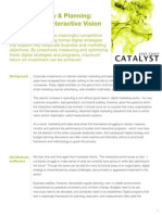 Digital Strategy & Planning_Defining the Interactive Vision
