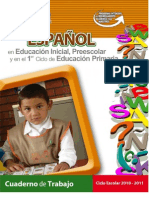 Español Pree 1er ciclo