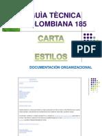 GU+ìA T+ëCNICA COLOMBIANA 185 para exponer sena