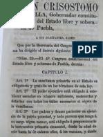 Ley de  Educacion Primaria en Puebla, 77-78