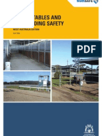 horse stables and track riding safety worksafe wa