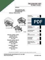 Trailer-M1101-M1102-Manual-TM 9-2330-392-14&P