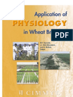 Application of Physiology in Wheat Breeding.