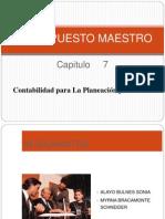 Capitulo 7 Presupuesto Maestro Exposicion
