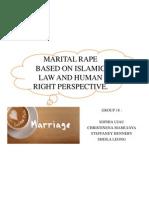 Assignment 1 - Marital Rape