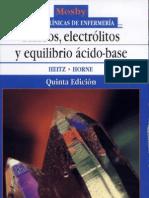 Fluidos,Electrolitos Equilibrio Acido Base