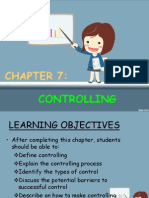 Chapter 7 Controlling