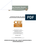 CEE Interstate Natural Gas Quality Specifications and Interchangeability[1]