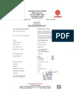 Letter Head & Certificates