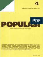 Populasi Volume 2, Nomor 2, Tahun 1991