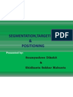 SEGMENTATION,TARGETING