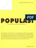 Populasi Volume 5, Nomor 2, Tahun 1994