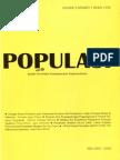 Populasi Volume 9, Nomor 1, Tahun 1998