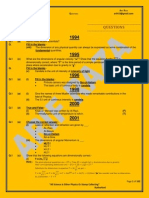 Xi Year Past Papers 1994 - 2011 ]