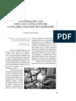 Conversación con José Luis Castillo-Puche