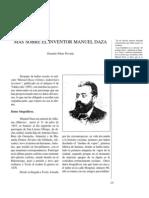 Más sobre el inventor Manuel Daza.