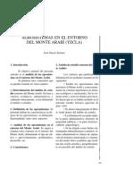 Agrosistemas en el entorno del Monte Arabí (Yecla).