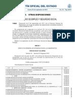 Resolución de 24 de junio de 2011 (BOE de julio de 2011) para la concesión de subvenciones a municipios, mancomunidades de municipios y comarcas para el desarrollo de programas innovadores a favor de la integración de inmigrantes, cofinanciada por el FEI
