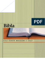 Bibla - Cili eshte mesazhi i saj?